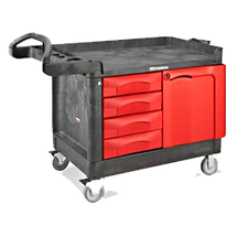 rubbermaid trademaster carts