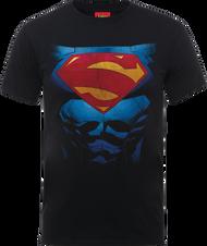 Superman DC Pectacular Logo Official Black Unisex T Shirt