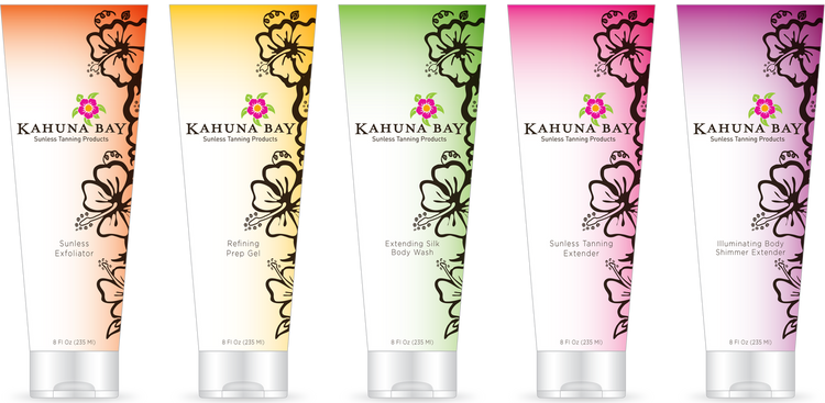 Kahuna Bay Tan Sunless Maintenance Sample Pack