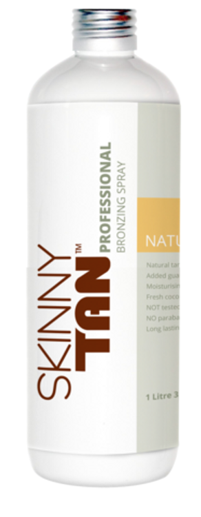 Skinny Tan Professional Bronzing Spray - Natural Tan