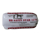BB Satin Star Equine Leg Wrap Sheets 12ct.