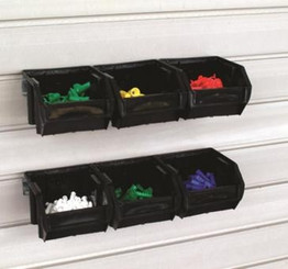 Bins - Large - 6 bins w/rails