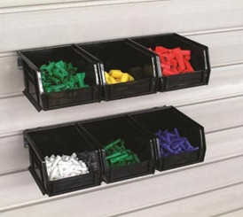 Bins - Medium - 6 bins w/rails