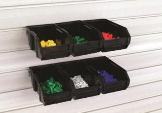 Bins - Large - 6 bins w/rails W-BN7