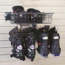 skate rack and basket a-5030