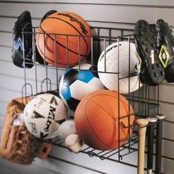 a-5070 Sports Rack & Basket