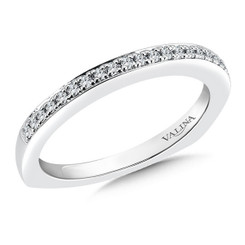 Valina Wedding Band R036BW-DIA