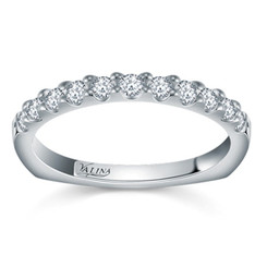 Valina Wedding Band R083BW