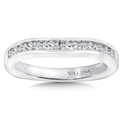 Valina Wedding Band R9067BW-dia