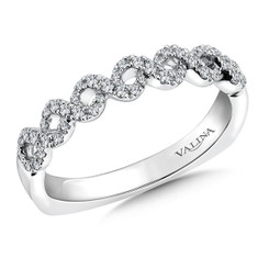 Valina Wedding Band R9313BW
