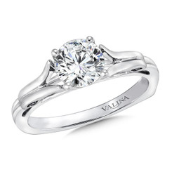 Valina Round Solitaire Engagement Ring R9418W-1.0