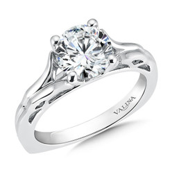Valina Round Solitaire Engagement Ring R9418W-1.50