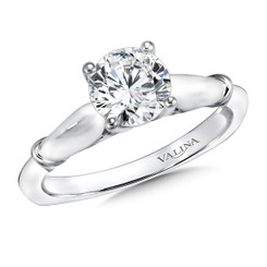 Valina Round Solitaire Engagement Ring R9424W-1.0