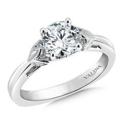 Valina Round Solitaire Engagement Ring R9436W-1.00