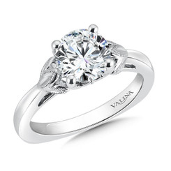 Valina Round Solitaire Engagement Ring R9436W-1.50