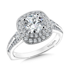 Valina Round Solitaire Engagement Ring R9600W