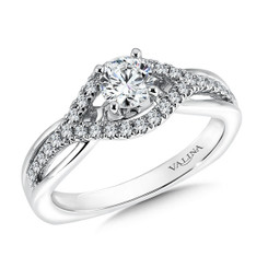 Valina Round Solitaire Engagement Ring RQ9358W