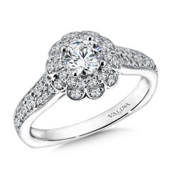 Valina Round Solitaire Engagement Ring RQ9609W