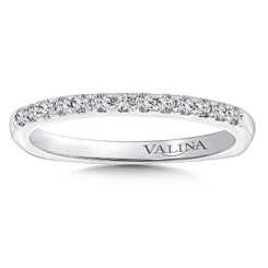 Valina Wedding Band R9649BW
