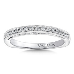 Valina Wedding Band R9651BW