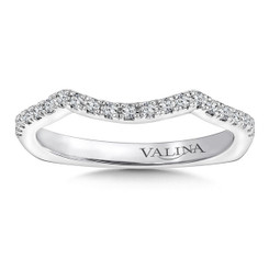 Valina Wedding Band R9654BW