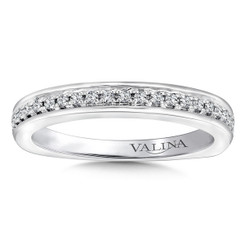 Valina Wedding Band R9661BW