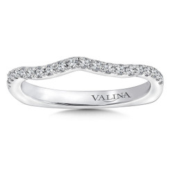 Valina Wedding Band R9666BW