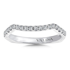 Valina Wedding Band R9674BW