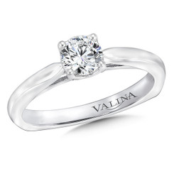 Valina Round Solitaire Engagement Ring RQ9629W
