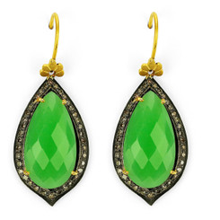 Suneera Odette Chrysophrase Earrings