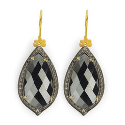 Suneera Odette Hermatite Earrings