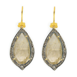 Suneera Odette Rose Quartz Earrings