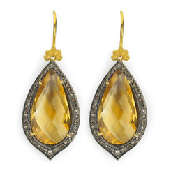Suneera Odette Citrine Earrings