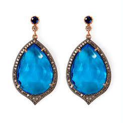 Suneera Odette 2 Turquoise Earrings