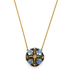 Suneera Poppy Moonstone Necklace