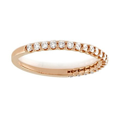 Suneera Quincy Rose Gold Band