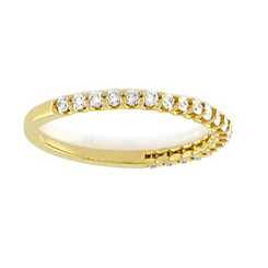 Suneera Quincy Yellow Gold Band