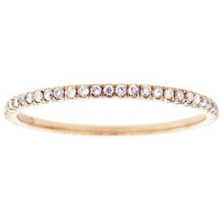 Suneera Quinn Eternity Rose Gold Band