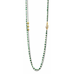 Suneera Akina Emerald Layered Necklace