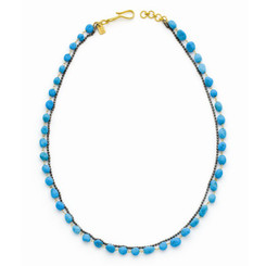 Suneera Ciara Turquoise Layered Chain