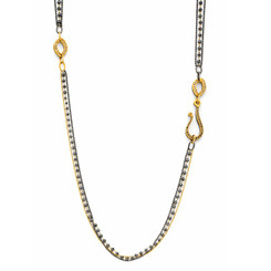 Suneera Wendy Black Diamonds Layered Necklace