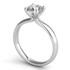 Sasha Primak Embrace Solitaire Engagement Ring ER306G