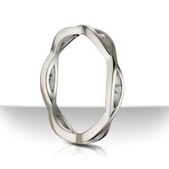 Sholdt twisp Wedding Band R506B-D