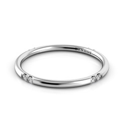 Danhov Classico Polished Round Diamond Band CB102