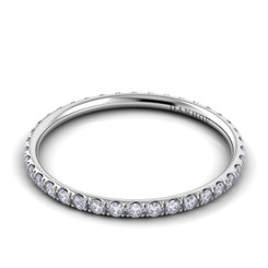 Danhov Classico Polished Round Diamond Band CB112-A