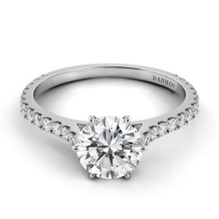 Danhov Classico Round Single Shank Engagement Ring CL108