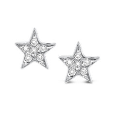 KC Designs Diamond Star Earrings with 12 Diamonds weighing .12 Carats E12884