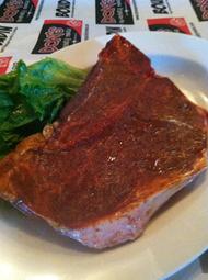 Seasoned & marinated T bone (1 per pack)