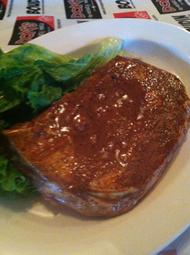 Seasoned & marinated sirloin