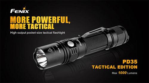 Fenix PD35 Tactical Edition Flashlight